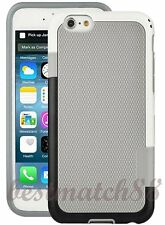 for iPhone 6 / 6s phone gray black white back case cover shockproof waterproof