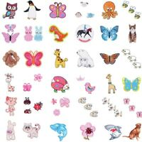 Animals and Insects Children's Iron On Motifs Applique