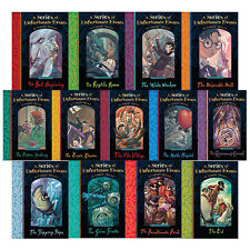 a Series of Unfortunate Events by Lemony Snicket 13 Books Collection Set