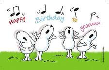 GILDE BRETTCHEN Happy Birthday - 45289 - BxT: ca.  23 cm x 14 cm