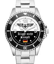Klagt nicht kämpft Deutschland Heimat Uhr Herrenuhr 2504