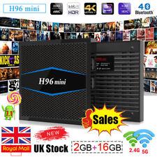 UK H96 Mini Android 7.1 TV Box 2GB+16GB Amlogic S905W Quad Core 4K Media Player