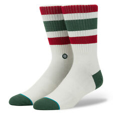 STANCE MENS SOCKS.BOYD 3 STRIPY CUSHIONED ARCH SUPPORT SIZE LARGE UK 8.5-11.5