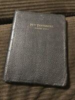 Vintage New Testament Large Type Primary LDS Mormon Scripture Holy Bible KJV