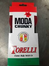 Torelli Chunky GEL Handle Bar Tape - Red - More padding = Comfort and Function