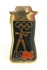 USA National Olympic Committee Shooting Team Los Angeles LA84 1984 Hat Lapel Pin