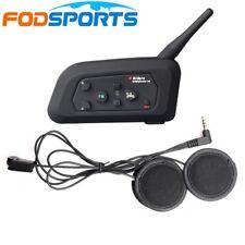 V4-1200M BT Bluetooth Interphone Bicycle Motorcycle Helmet Intercom Headset w/FM
