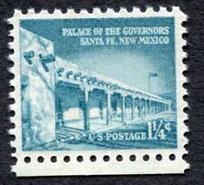 LIBERTY ISSUE, GOVERNORS PALACE Santa Fe, 1960 Scott #1031a US 1+1/4 cents (116)