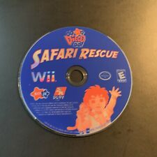 Go, Diego, Go Safari Rescue (Nintendo Wii, 2008) Disc Only Tested Working
