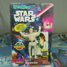 Yoda The Jedi Master Star Wars Bend-ems Just Toys Vintage Action Figure 1994