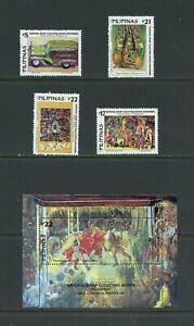 A808   Philippines  2001   art stamp collecting month      MNH