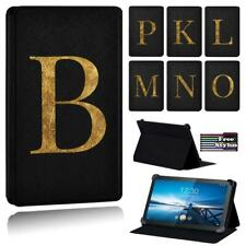 For Lenovo Smart Tab M8/Tab M10 Printed letter PU Leather Stand Folio Cover Case