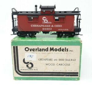 Overland Models Chesapeake & Ohio Wood Caboose