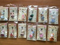 Sylvanian Families mascot keychain 【Lot of 12】 EPOCH Calico Critters