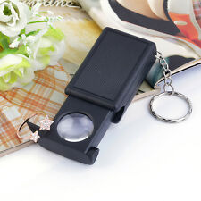Mini Illuminated 45X Jewelers Loupe Magnifier Magnifying Glass with LED Light XP
