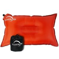 Outdoor Inflatable Camping Pillow Travel Backpack Compact Cushion RV Beach Kids