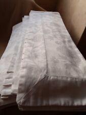 FEATHER & BLACK Luxury Bed Linen Cotton King Size DUVET COVER & 2 x PILLOW CASE