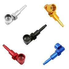New Tobacco Smoking Pipe Screw Bolt and Nut Style Design Gift Black 1pcs