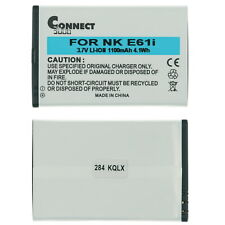 Nokia E61 E61i E63 E90 Battery - 1100mAh(Replaces BP-4L)