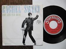 "7"" Rachel Sweet - Baby let's play house / Wildwood Saloon Stiff  plays perfect !"