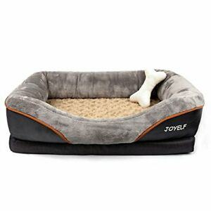 JOYELF Memory Foam Dog Bed Small Orthopedic Dog Bed & Sofa with Removable Cover