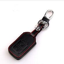 2 Buttons Leather Case Cover Holder For Honda Fit Odyssey Vezel Remote Smart Key