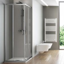 Box doccia 70x90 cabina angolare cristallo temperato apertura scorrevole offerta