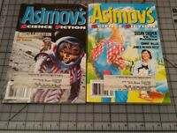 LOT of 2 Isaac Asimov's Science Fiction Magazines 1994 December  Mid- December