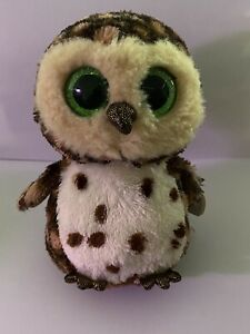 TY Beanie Boo Plush - Sammy the Owl 15cm