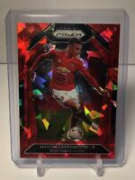 2020-21 Panini Prizm Premier League Soccer Mason Greenwood Red Ice #15