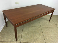 60er 70er Jahre Teak Coffee Table Table Grete Jalk France & Son Denmark Design