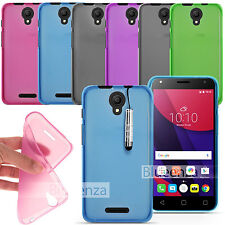 For ALCATEL PIXI 4 (5.0) 4G 5045X / 3G 5010D -NEW Gel Silicone Rubber Case Cover