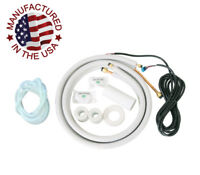 """25FT 1/4 -1/2"""" Dia. Install Line Set Kits for Mini Split System with 26FT Cable"""