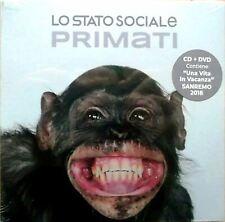 """LO STATO SOCIALE """"PRIMATI""""  cd + 2 dvd  sigillato"""
