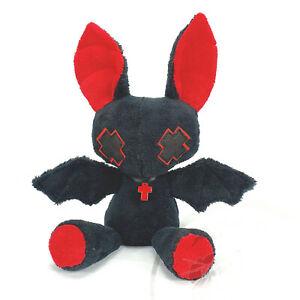 Kawaii cute stuffed plush toy- Oloff the kawaii goth black bat boy