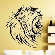 Brüllender Löwe Lion Wallsticker Wallpaper Wand Schmuck 56 x 56 cm Wandtattoo