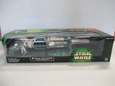 """B-WING FIGHTER Star Wars Power of the Jedi 22"""" Vehicle w/ Pilot - NIB! Hasbro ZQ"""