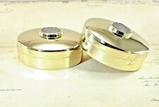 (Lot of 2) Metal Round End Cap For 54mm Staircase Bannister Timber Handrail
