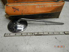 "VINTAGE HARLEY CLAMP ON MIRROR NOS 4"" Bobber Chopper Triumph Honda Indian"