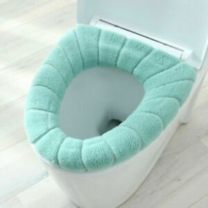 Bathroom Soft WashableToilet Lid Cover Toilet Seat Cover Mat Set for Home Decor