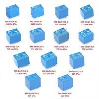 3V / 5V / 9V / 12V / 24V DC Various Mini Power Relays 4-Pin 5-Pin 6-Pin 8-Pin