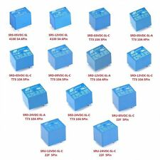 1/2/5/10Pcs Mini DC12V SONGLE Miniatur Power Relais PCB Type