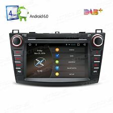 "8"" Android 6.0 Quad-Core Car Audio Stereo DVD Player GPS for Mazda 3 2010-2013"