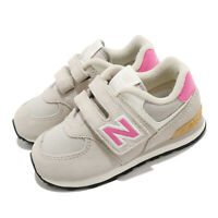 New Balance 574 Wide Grey Pink TD Toddler Infant Baby Shoes Sneakers IV574ME2 W