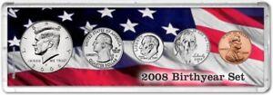 Birth Year Coin Gift Set, 2008