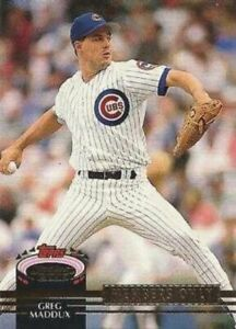 1992 Stadium Club Members Only #NNO Greg Maddux Chicago Cubs