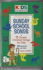 Little David Presents SUNDAY SCHOOL SONGS Audio Cassette 15 Christian Songs S28D