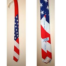 Men's, American Flag, Patriotic, Stars & Strips, Neck Tie by Ralph Marlin