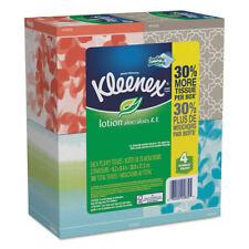 Kleenex Lotion Facial Tissue 2-Ply 75 Sheets/Box 4 Box/Pack 25834