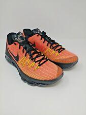 Nike KD8 SIZE 9.5 Total Orange/Black-Volt-Bright Crimson